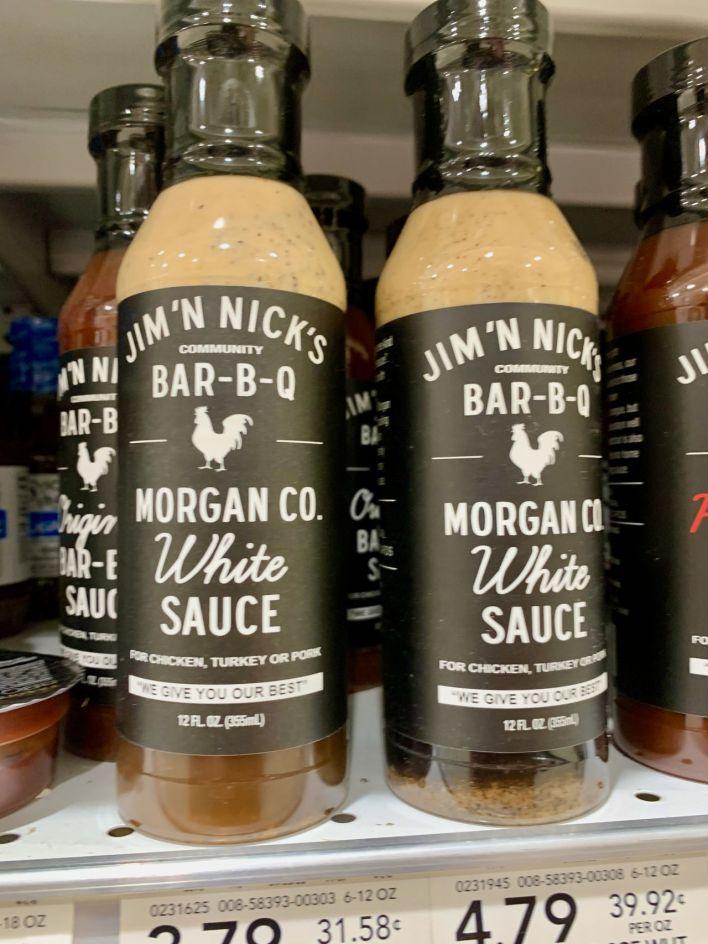 La sauce barbecue blanche d'Alabama