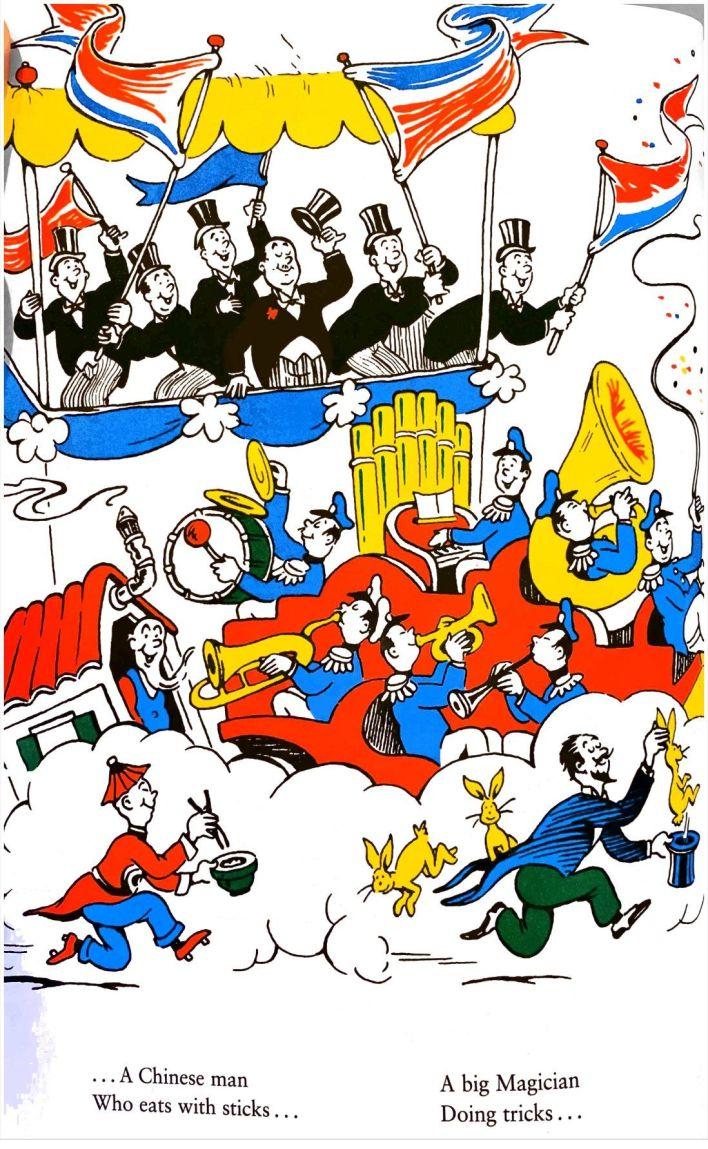 """L'un des dessins de Dr Seuss qui poserait """"problème""""...."""