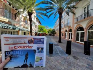 Le Courrier : le seul journal francophone distribué en Floride