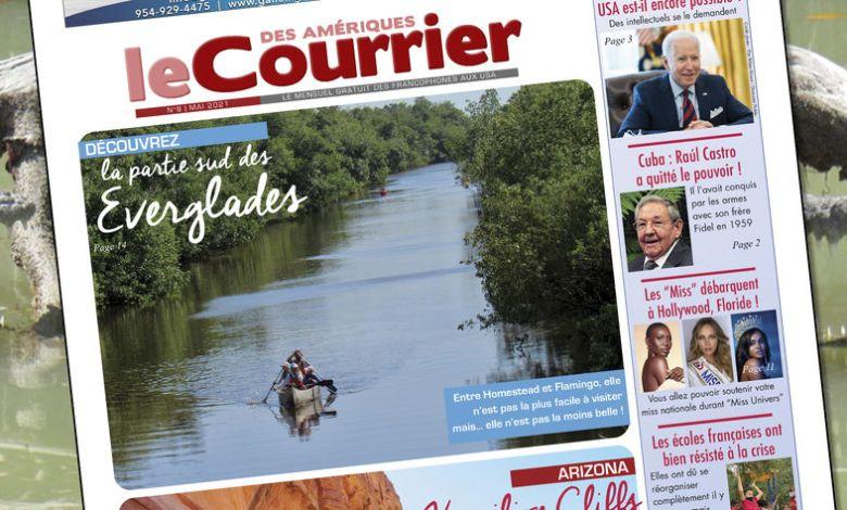 Le Courrier des Amériques du mois de mai 2021 / Le Courrier de Floride