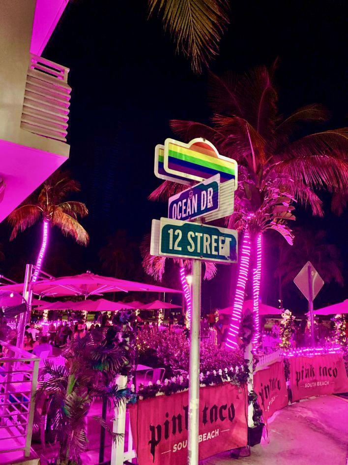 La plage gay de Miami Beach