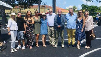 Miami : Inauguration de la fondation B.E.B pour le soutien du programme français à l'école ISCHS