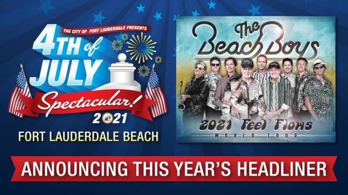The Beach Boys à port Lauderdale