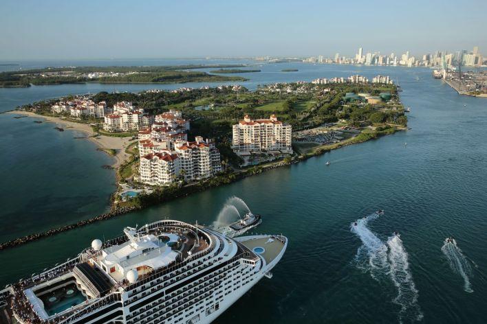Les croisières au départ de Miami et de la Floride.