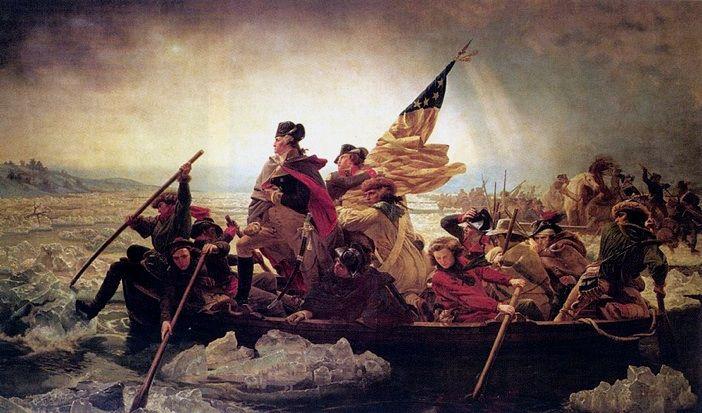 Washington traversant le Delaware au Metropolitan Museum of Art de New-York