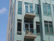 Les balcons sont plus petit qu'à Manhattan dans le quartier de Williamsburg à Brooklyn (notre guide de voyage à New-York) !!!!