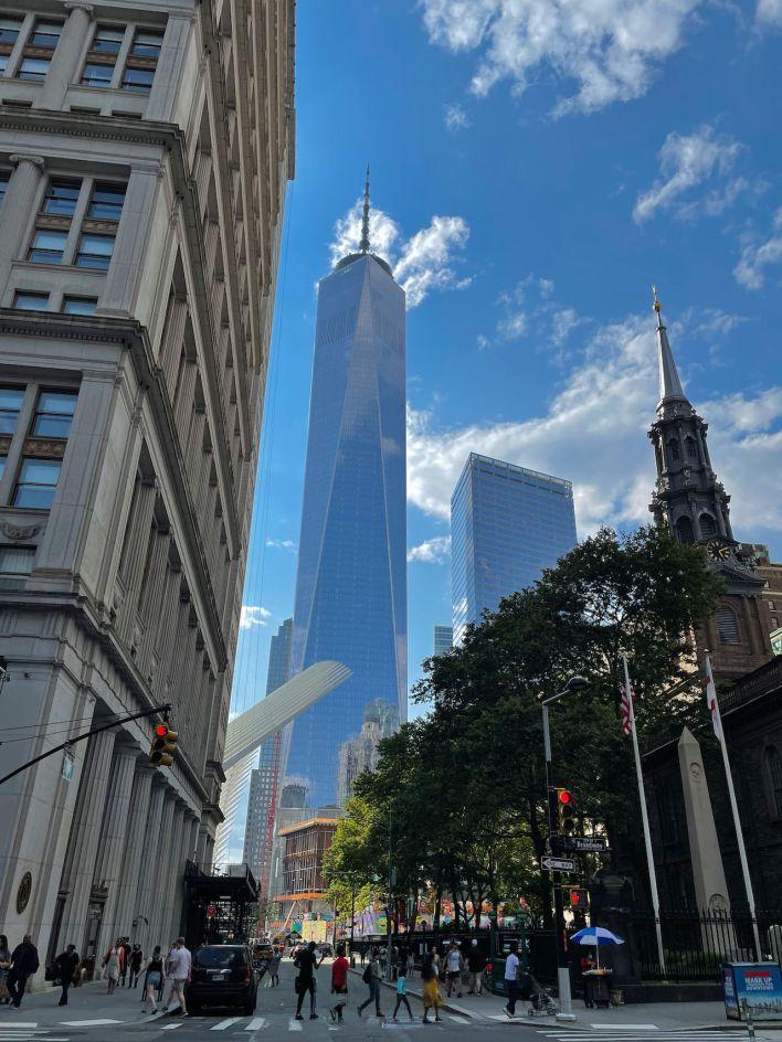 """La nouvelle tour """"One World Trade Center"""""""