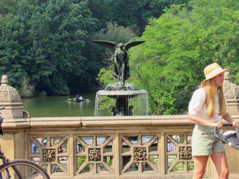 Bethesda Fountain à Central Park