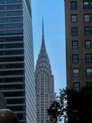 Le Chrysler Building vu depuis les environs de Grand Central