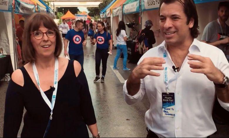 Josée Maynard en compagnie de Paul Connolly à Miami