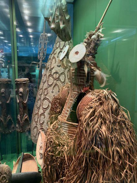 Partie sur les autochtones (indiens) d'Amérique latine au Musée d'histoire naturelle de New-York (American Museum of Natural History)