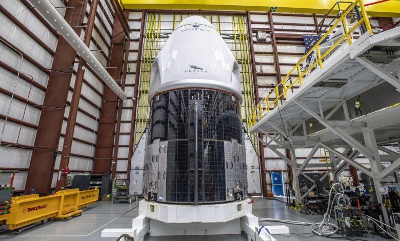 La SpaceX Crew Dragon spacecraftPar SpaceX