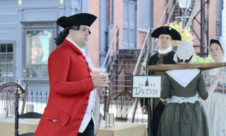 Cérémonies à Newport (RI) en septembre autour de Lafayette