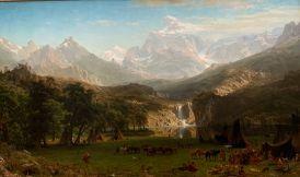 The Rocky Moutains par Albert Bierstadt (1863) Metropolitan Museum of Art de New-York