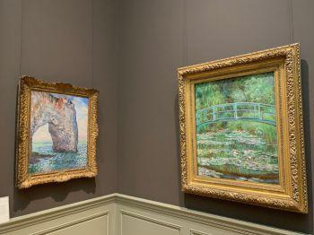 Tableaux de Claude Monet au Metropolitan Museum of Art de New-York