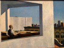 Office in a small city, par Edward Hopper (1953), au Metropolitan Museum of Art de New-York