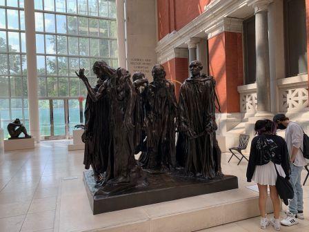 Les Bourgeois de Calais, par Auguste Rodin (1884-95) au Metropolitan Museum of Art de New-York
