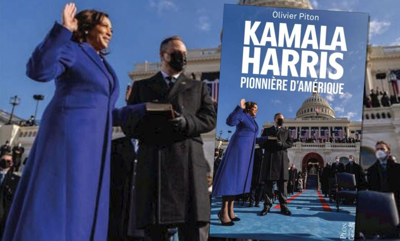 Kamala Harris, pionnière d'Amérique : un livre d'Olivier Piton