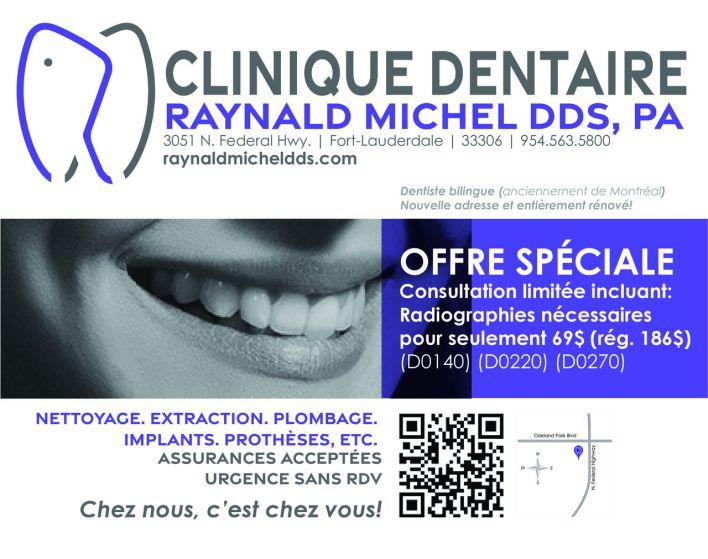 Raynald Michel dentiste