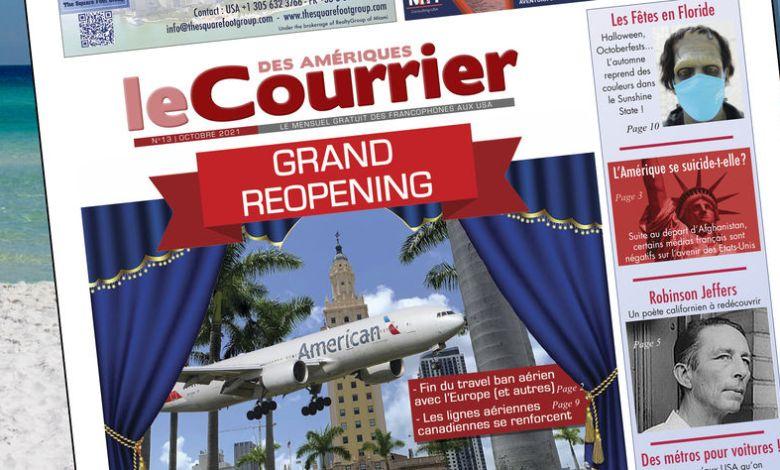 Le Courrier des Amériques d'Octobre 2021 est sorti !