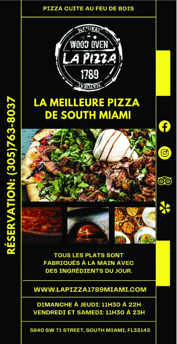 Pizzeria et restaurant à Miami : La Pizza 1789