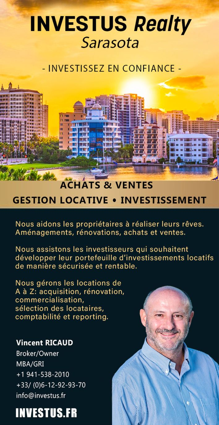 Agent immobilier à Sarasota