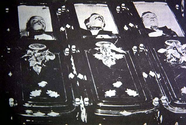 Tom McLaury, Frank McLaury et Billy Clanton