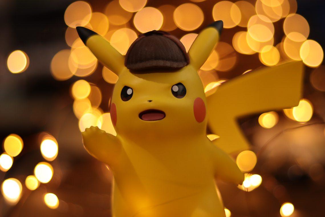 Pikachu détective