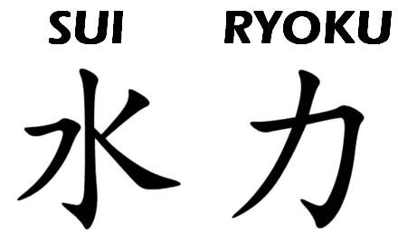 Kanji force hydraulique