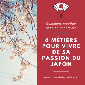 métier passion japon