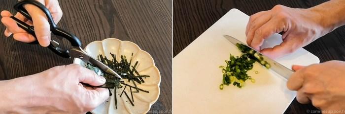 algue nori japonaise