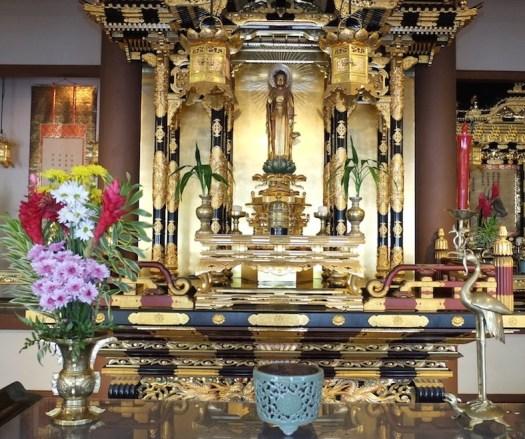 Autel bouddhique