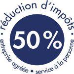 50% de réduction d'impôts