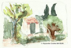 Colette MAYEUR Petit cabanon (Visioateliers)