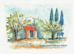 Patricia FROT Petit cabanon (Visioateliers)