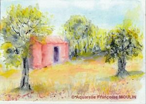 Francoise MOULINS Petit cabanon (Visioateliers)
