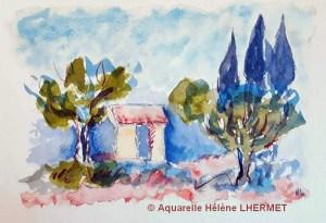 Hélène LERMET Petit cabanon (Visioateliers)