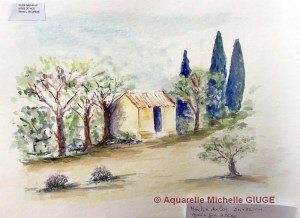 Michelle GIUGE Petit cabanon (Visioateliers)