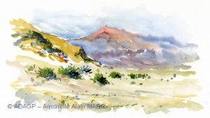 Paysage du désert d'Almeria - Alain MARC