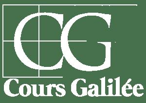 logo cours galilée blanc