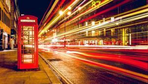 cabine téléphonique en angleterre