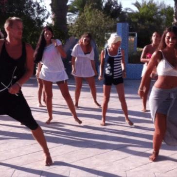 Cours initiation danse kizomba