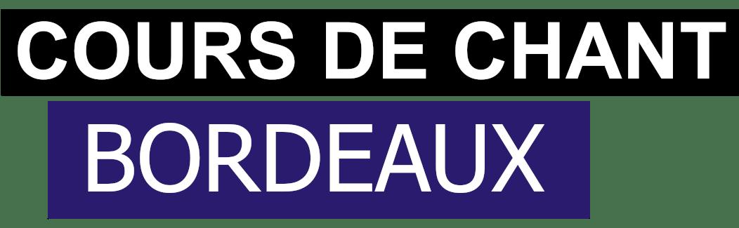 Cours de chant Bordeaux