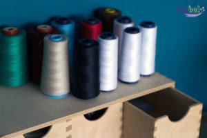 atelier bizibul à port saint père création textile et cours de couture stock de mercerie disponible