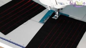Cours de couture inititation à la machine à coudre,piqures droites et zigzag