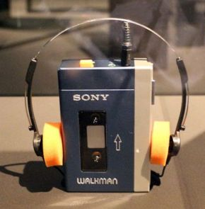 Le walkman de Sony