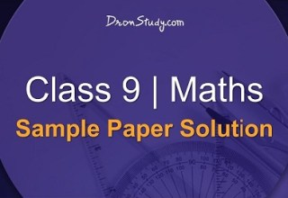Class 9 Maths Sample Paper