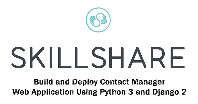 [Skillshare] Build Contact Manager Web Application Using