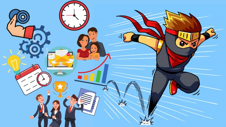 Be Productive Ninja 10x Your Productivity Have more time
