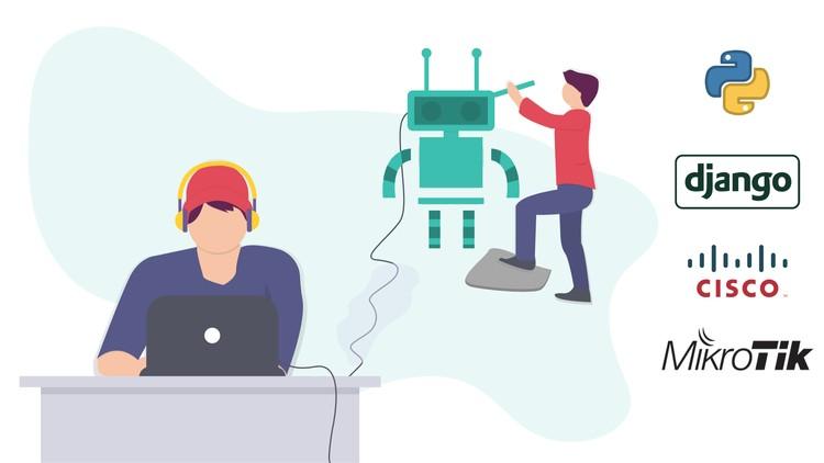 Build Web Base Network Automation Apps using Python Django